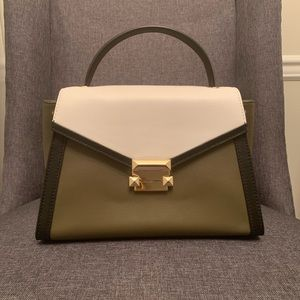Michael Kors Green Satchel